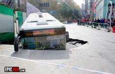 Bus Fail <---- pretty sure it is a street fail not a bus fail.