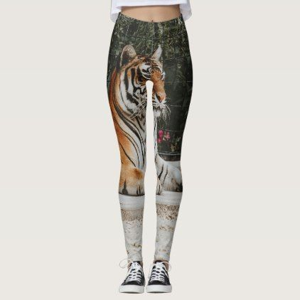 Exotic tiger leggings - diy cyo customize create your own personalize