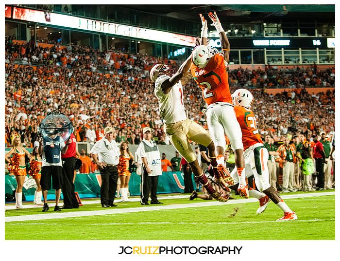 UM vs. FSU - JC Ruiz Photography