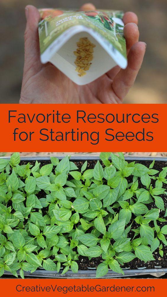 Favorite Seed Starting Resources