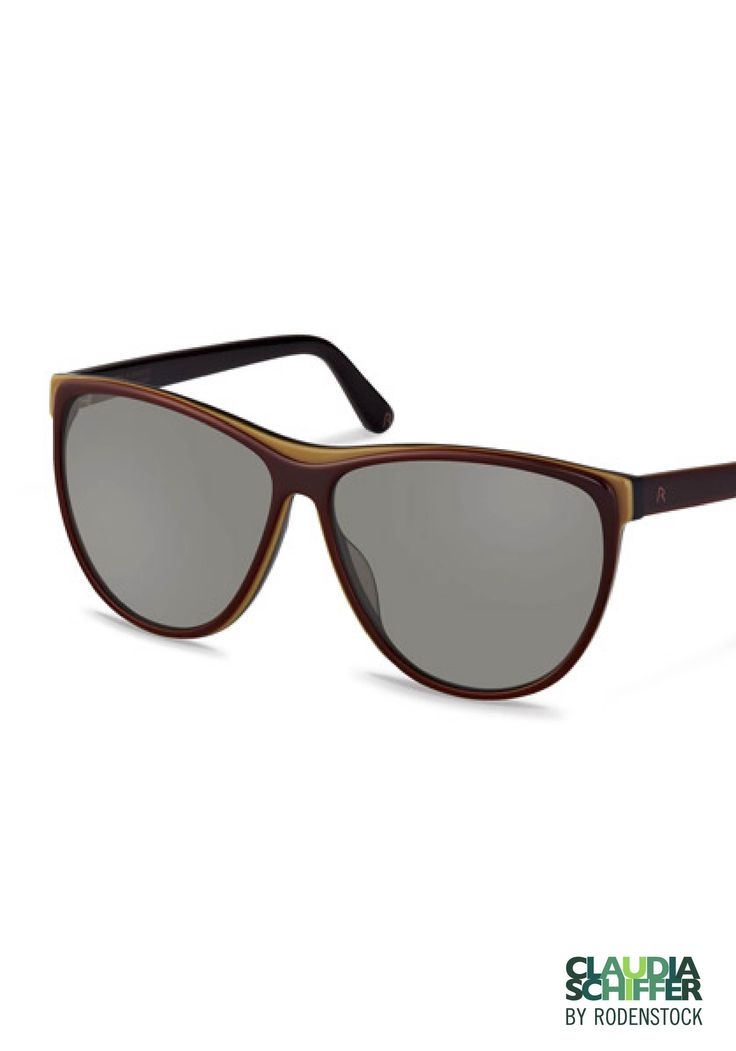 Designer Inspired Damen Sonnenbrille, gold