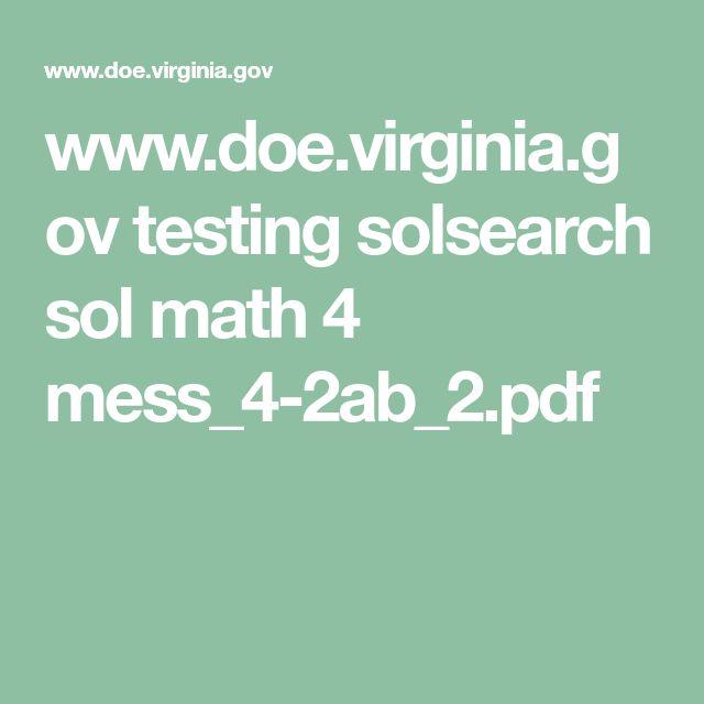 www.doe.virginia.gov testing solsearch sol math 4 mess_4-2ab_2.pdf