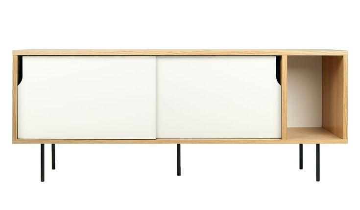 MONOQI | 165 cm Dann Sideboard - White