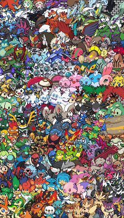 Epic Pokemon Generation 5 - Sprite Stitch Wiki - Wikia