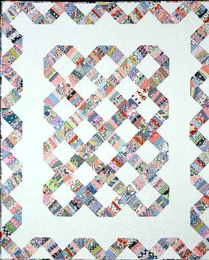 string X quilts | Indian Hatchet String Quilt (1996)                                                                                                                                                     More