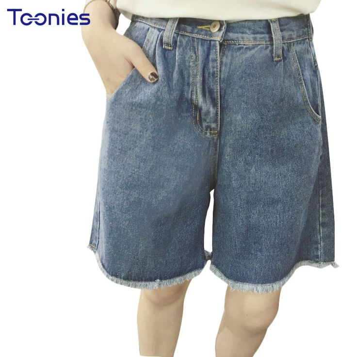 Wide Leg Women Shorts Female Denim Cotton Women's Shorts Casual Summer Woman Short Trouser Fashion Bermudas Pantaloncini Donna