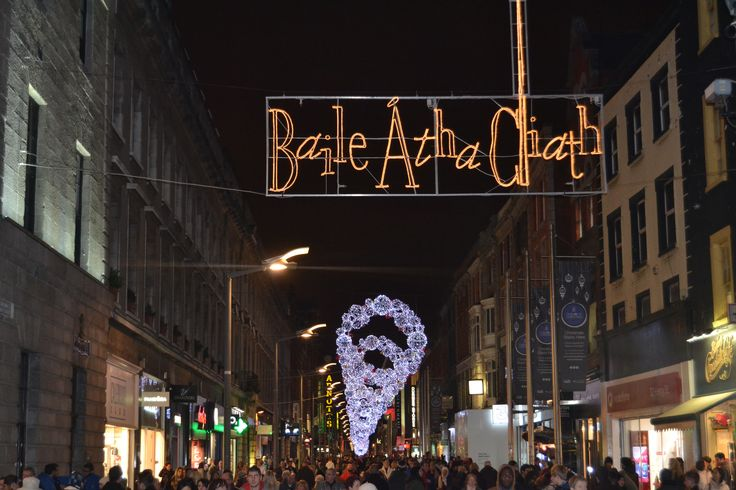 #Dublin City Centre is a magical place at Christmas time! #EazyCity