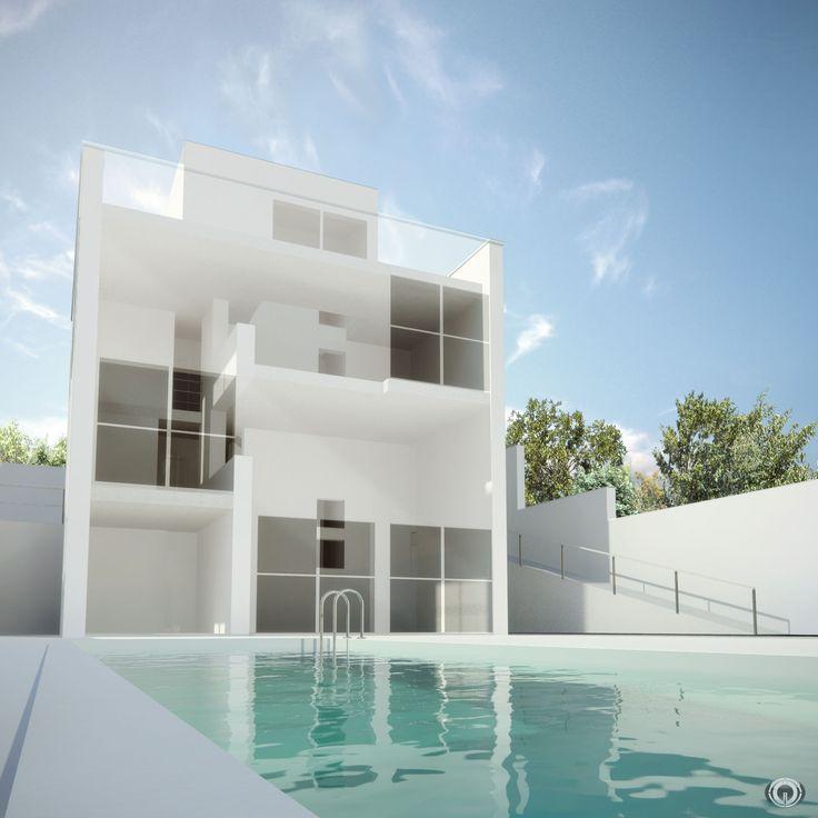 Bim Building Information Modeling Casa Turegano Campo