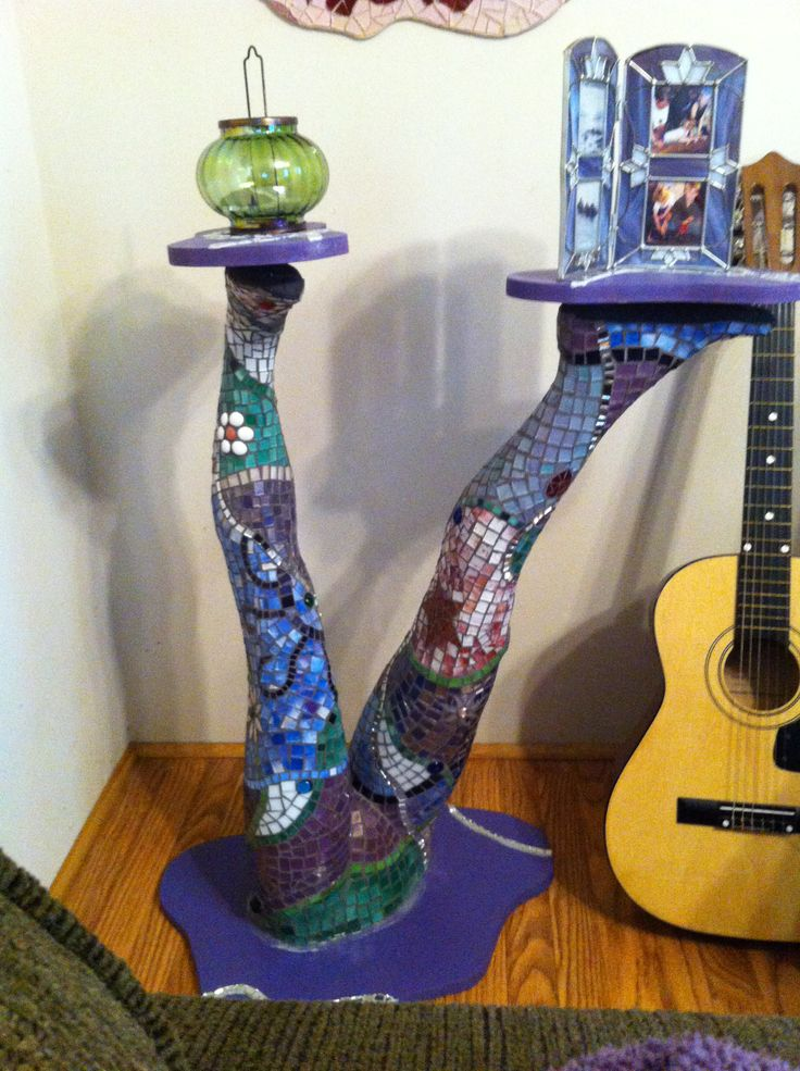 Mosaic Table Made From Mannequin Quot Girl S Got Legs Quot Is The