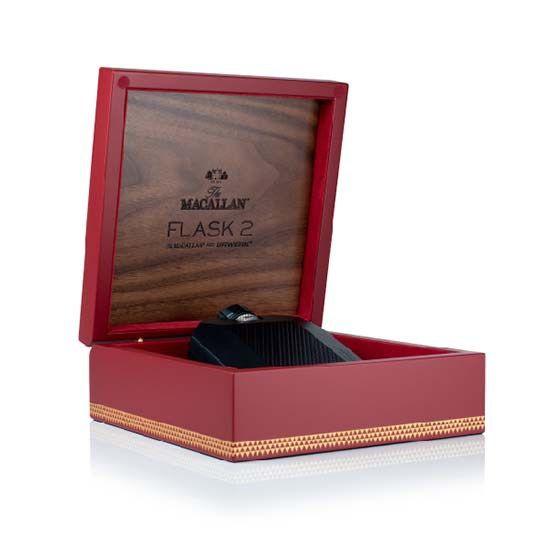 The most complex flask you've ever seen: Macallan x URWERK Flask   #URWERK #20yearsofURWERK #MacallanxURWERK #luxurywatch #whisky #scotch