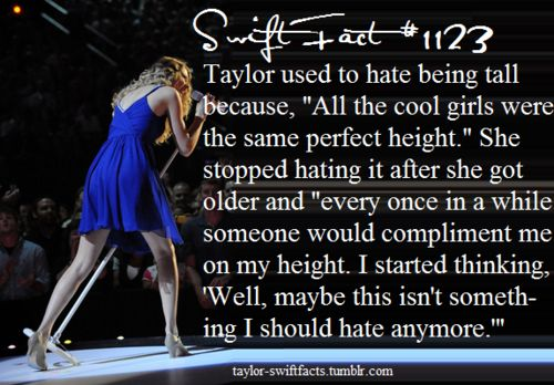 There is absolutely nothing wrong with being tall