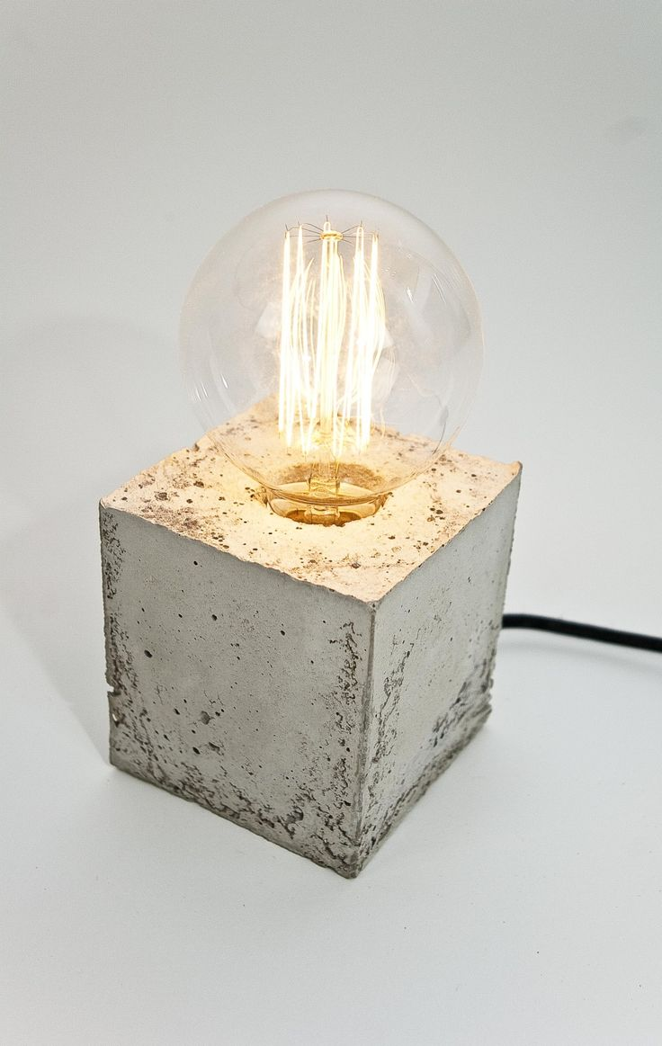 LJ Lamps alpha - concrete lamp by LJ Lamps made in Germany op CrowdyHouse