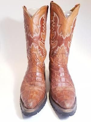 EL PRESIDENTE GOLD COLLECTION MEN'S BOOTS SIZE US 9.5 MEX 28.5
