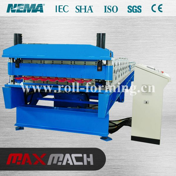 Name: double layer roofing machine We focused in high quality roll forming machine with more than 20 years experience.such as c/z purlin, guardrail, window, floor deck roll forming machine, and so on.  Web.: http//www.roll-machine.com/           http//www.roll-forming.cn/ E-mail: info@roll-forming.cn  Tel.: +86-571- 82897908