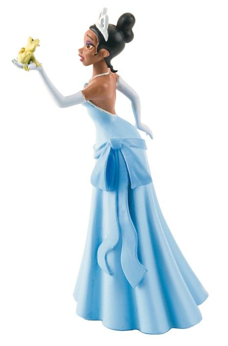 Küss den Frosch Figur Prinzessin Tiana mit Frosch 10 cm