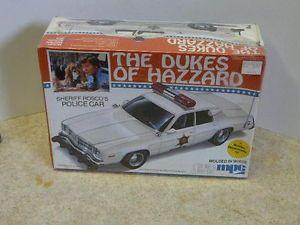 Dukes of Hazzard Sheriff Rosco's Police Car Model (1982)