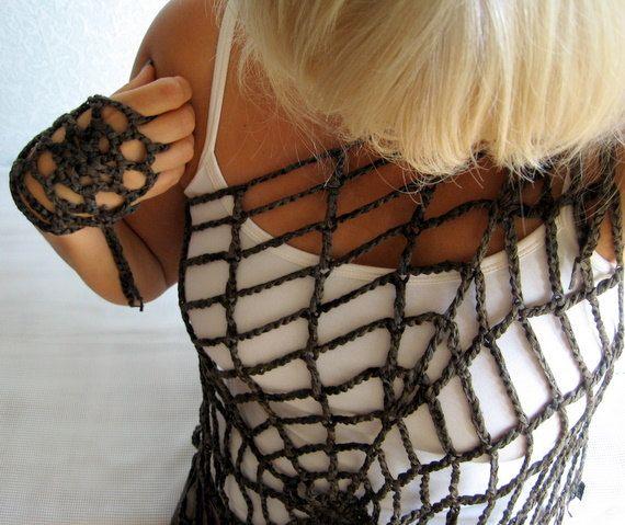 Crochet Pattern Halloween Costume One Size by PatternsIsland