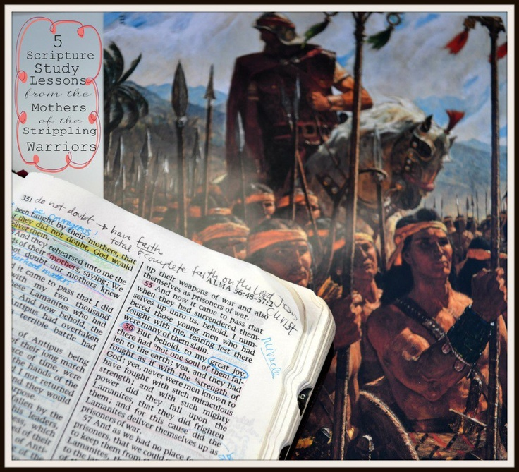 5 Scripture Lessons from the Mothers of the Strippling Warriors  |  The Red Headed Hostess