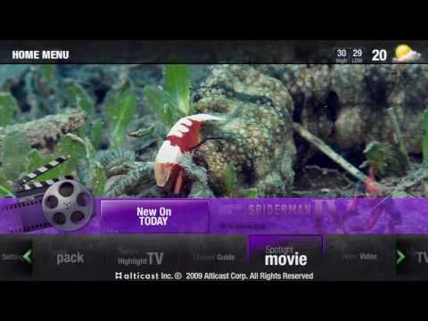 IPTV integrated UI proposal project_AwakenTV - YouTube