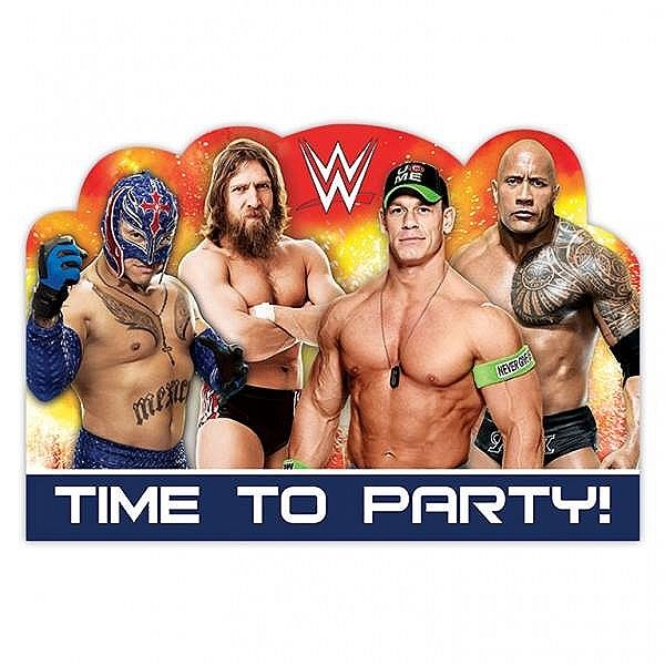 13 best WWE PARTY SUPPLIES DECORATIONS images – John Cena Birthday Card