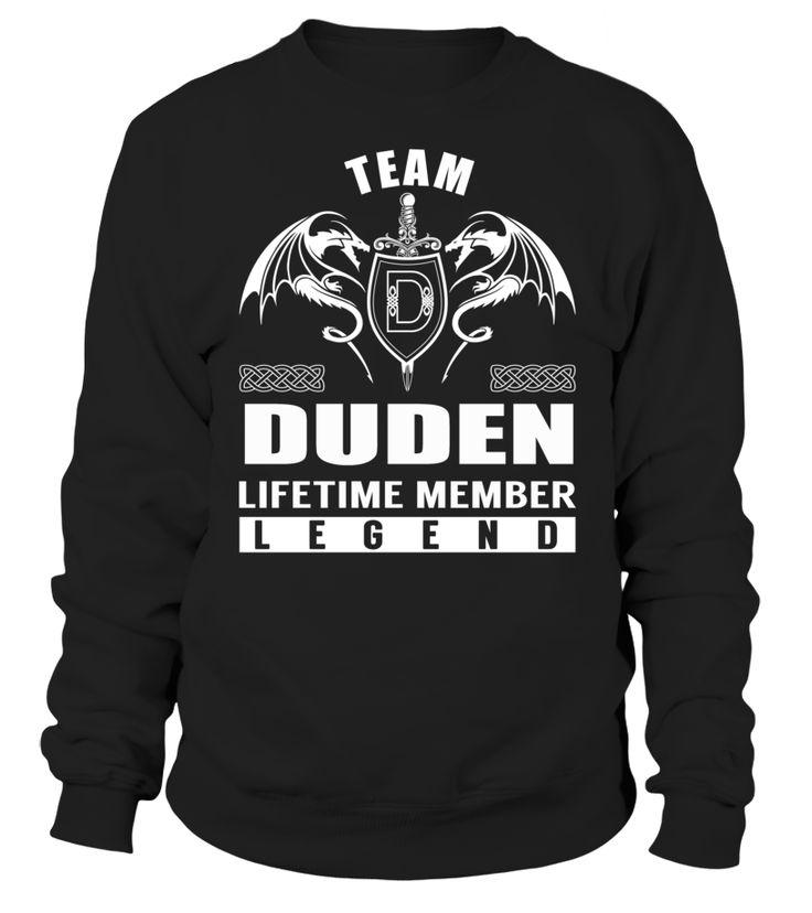 team duden lifetime member legend duden
