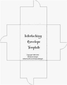 a6 envelope template example creativity pinterest envelope