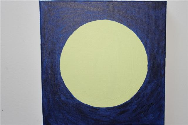Painting this picture allowed me to make colours for the moon and sky and highlight the light and dark colours