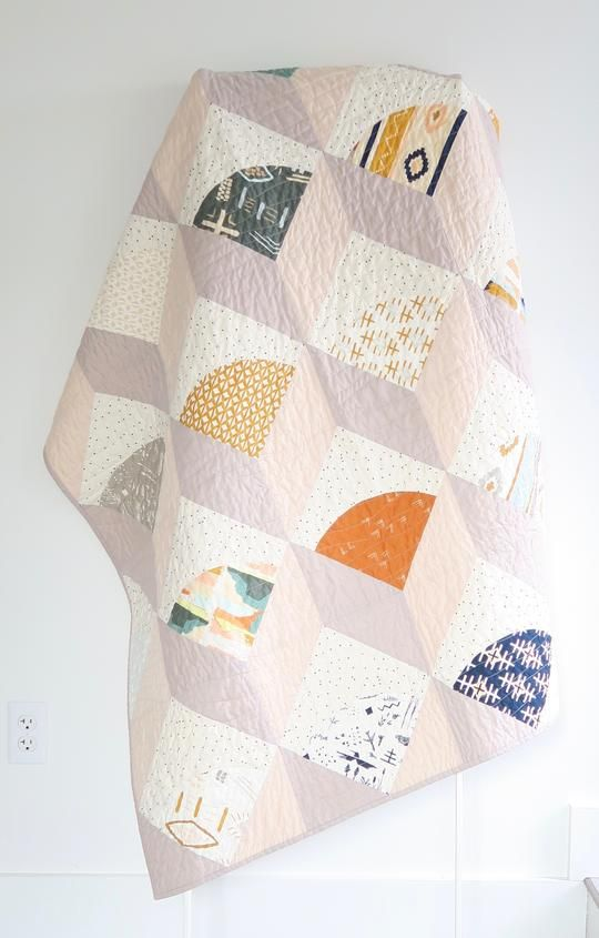 Ice Cream Cone Throw Quilt   Colors   Quilts, Quilt patterns