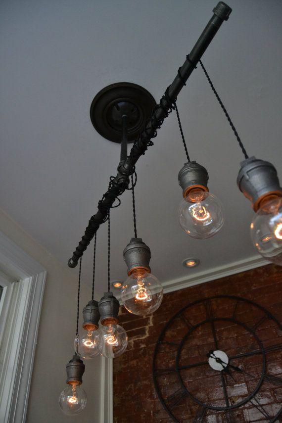 Ceiling Light Lighting By Westninthvintage Lights Chandelier Track