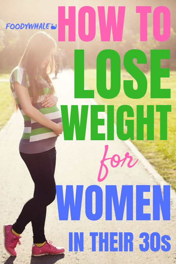 How to lose weight for women in their 30s. The best weightloss diet plans and ti...