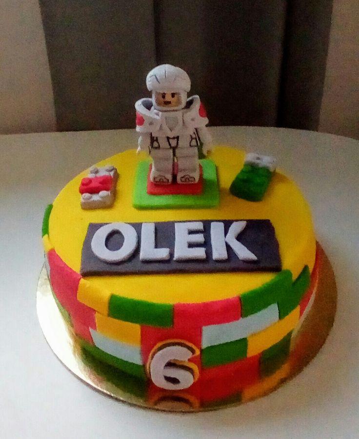 Tort lego nieco cake