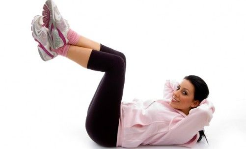 Exercises To Lose Belly Fat - Vertical Leg Crunch