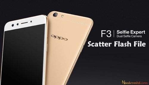 Oppo F3 CPH1609 Scatter Firmware Download | Smartphone