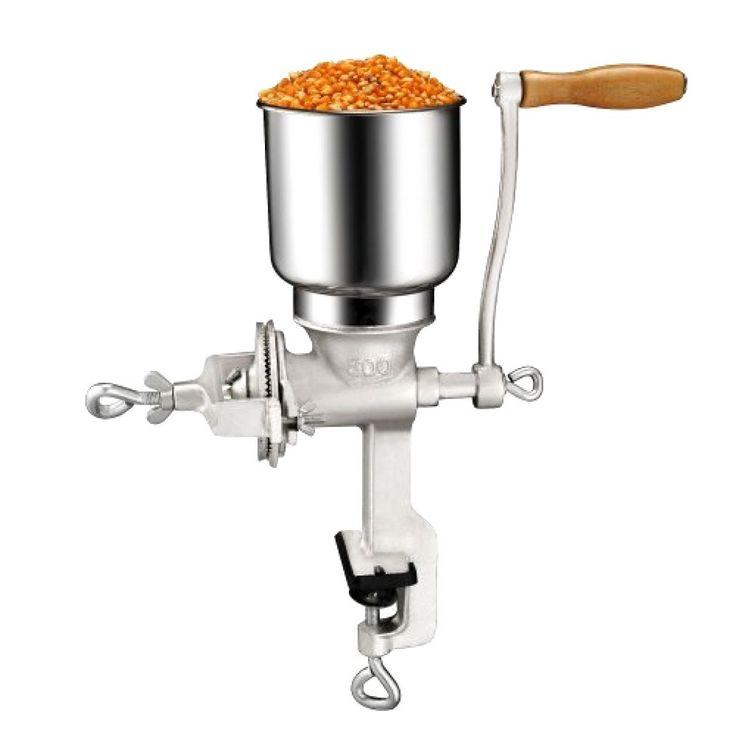 Flour Mill hand grinding machine Feed Corn Grain wheat or grain Nuts Palm Crank   eBay