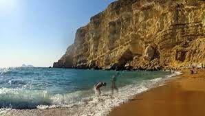 Griekenland vakantie: Red Beach, Matala Kreta top naaktstrand