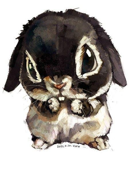 super cute watercolor animals