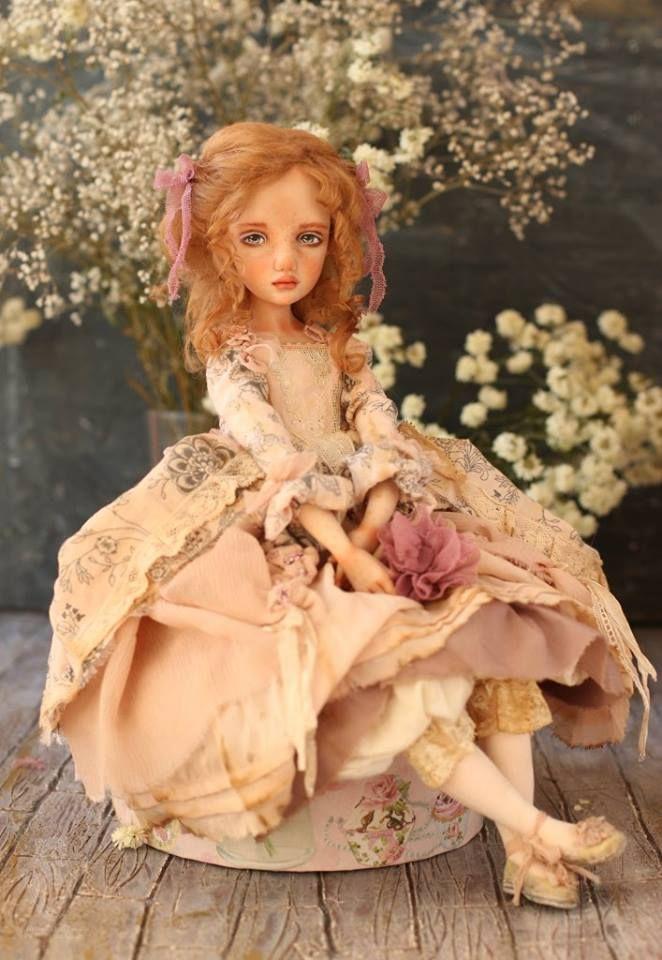 Art doll by Helena Oplakanskaуа