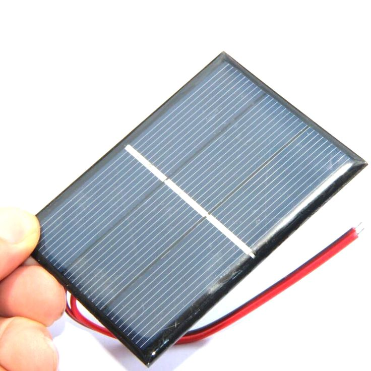 BUHESHUI High Quality 0.65W 1.5V Polycrystalline Small Solar Panel With Cable Education Kits DIY Solar Toys/System