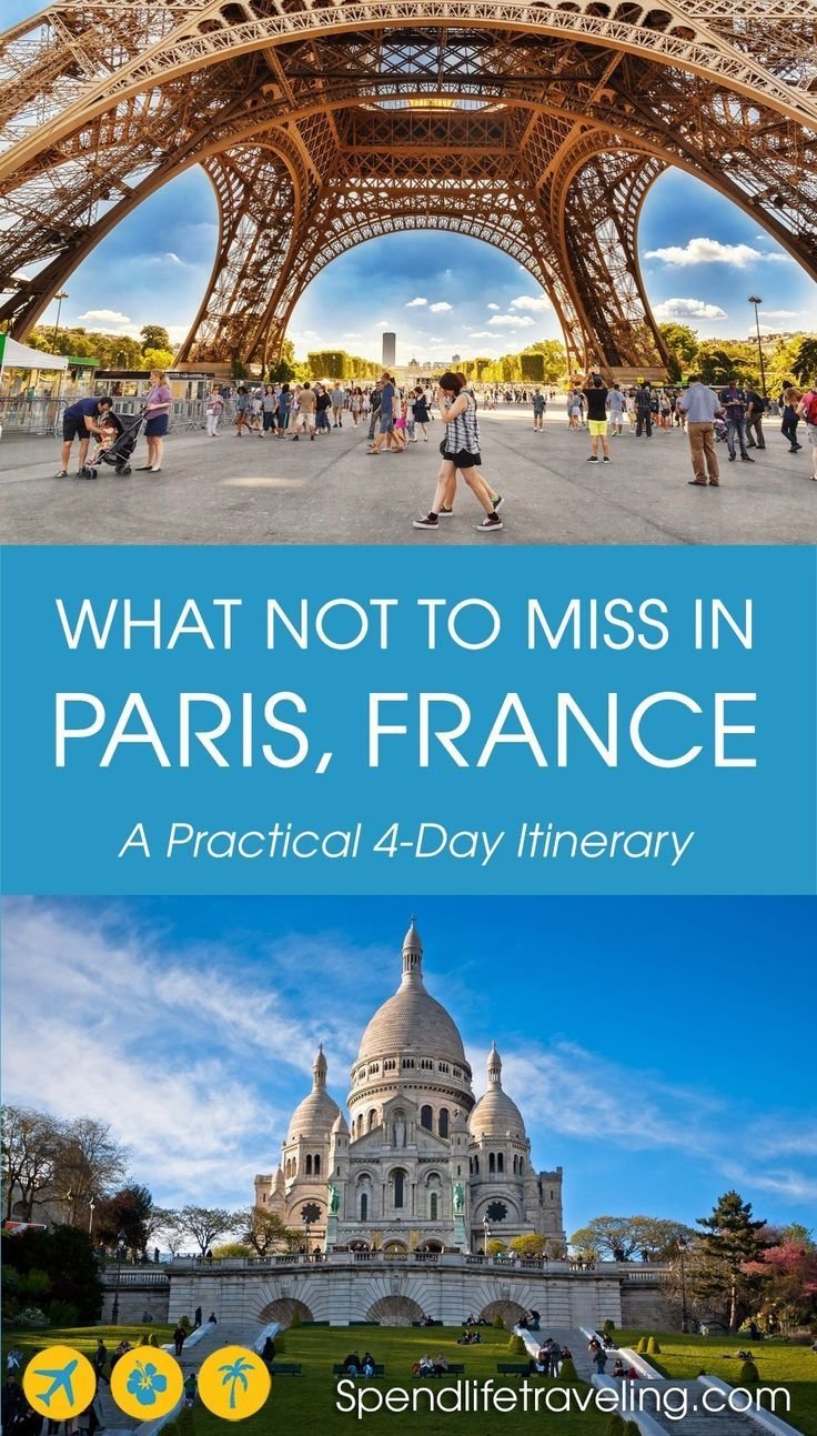 Paris Itinerary 4 Days In Paris What To See Do Days Itinerary Paris 4 Days In Paris Paris Itinerary Paris Travel
