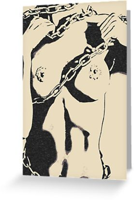 Chains of Love, BDSM erotic, naughty submissive • Also Available as T-Shirts & Hoodies, Men's Apparels, Women's Apparels, Stickers, iPhone Cases, Samsung Galaxy Cases, Posters, Home Decors, Wall Tapestries, Tote Bags, Pouches, Prints, Cards, Mini Skirts, Scarves, iPad Cases, Laptop Skins, Drawstring Bags, Laptop Sleeves, and Stationeries #sexy #kinky #adult #naughty #hot