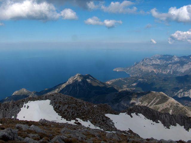 Dirfi mountain! The highest mountain of Evia