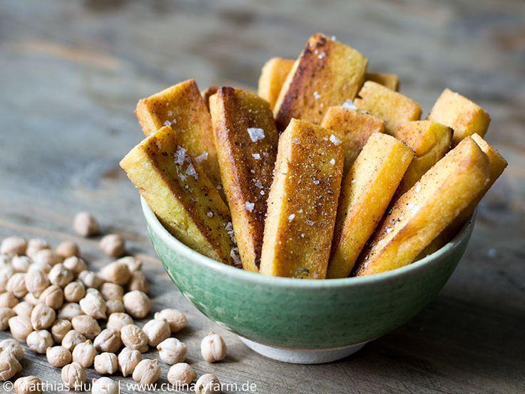 Panisse – französische Kichererbsen-Fritten