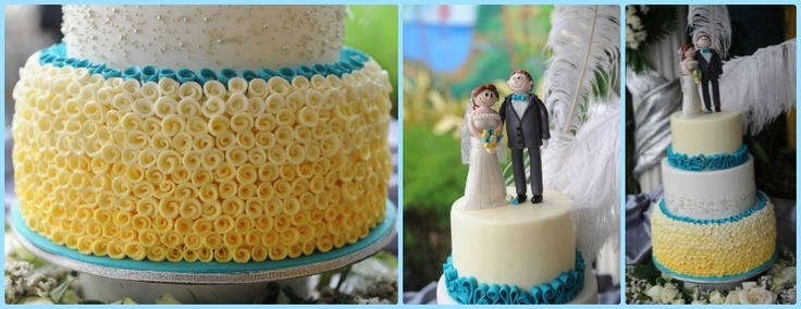 Turquoise And Yellow Wedding Ideas: 1000+ Images About Turquoise Wedding Theme On Pinterest