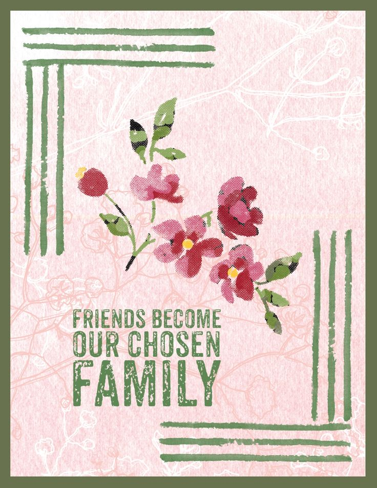Digital greeting card created with Painted Petals stamp brush set created by my lovely friend Susan :)