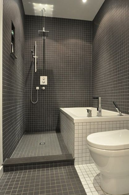 Image Of New Modern Bathroom Tile Ideas Photos Find this Pin and more on Small Shower Room