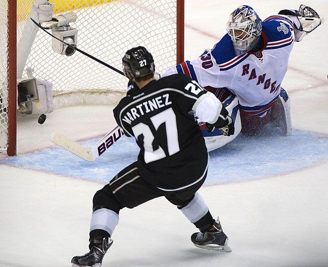 da4417ba2 ... L.A. Kings 2014 Stanley Cup Finals game winning goal by Alec Martinez  ...