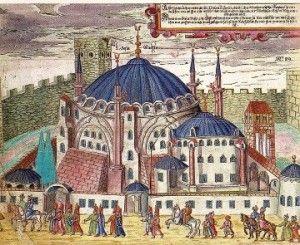 Istanbul: nel 1453, la città passò in mano ai Turchi Ottomani, e divenne capitale dello stesso Impero Ottomano.  la città conobbe nuove importanti opere  come la costruzione delle Moschee, nonché la conversione delle Chiese in Moschee (così fu per Santa Sofia). L'Impero Ottomano fu sconfitto durante la Prima guerra Mondiale, -Repubblica Turchia capitale Ankara