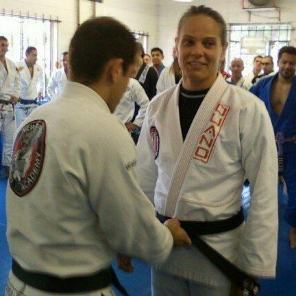 12 Reps with BJJ black belt Valerie Worthington!