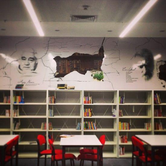 Kütüphane Duvarı // library #1