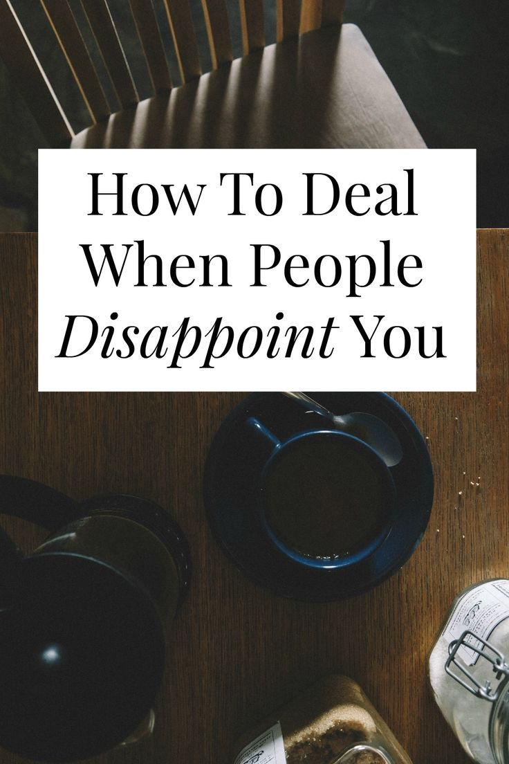What can you do when people disappoint you? If you can use this one, internal phrase you navigate just about any disappointment. // yesandyes.org